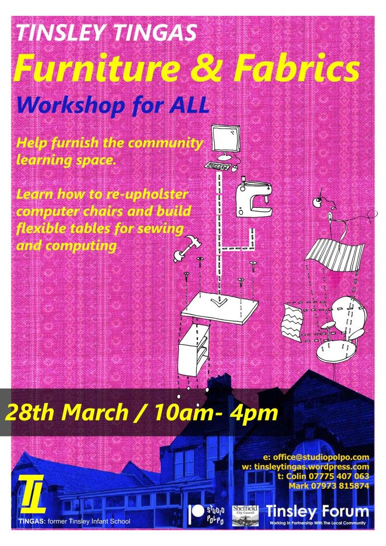 Furniture and Fabrics Workshop
